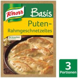 Knorr Basis für Puten-Rahmgeschnetzeltes