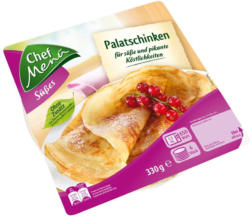 Chef Menü Palatschinken