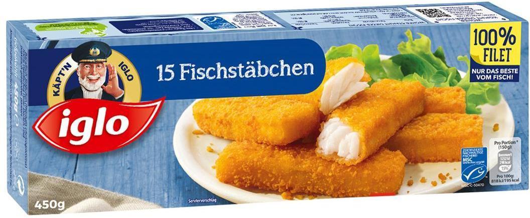 Iglo Fischstäbchen nur € 4,79 - BILLA - Angebot ...