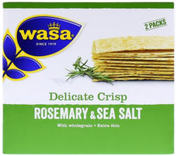 Wasa Delicate Thin Crisp Rosmarin & Salz