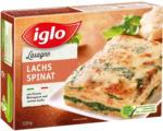 BILLA Iglo Lachs-Spinat-Lasagne