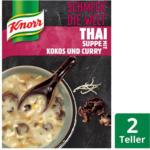 BILLA Knorr Thai Suppe mit Kokos und Curry