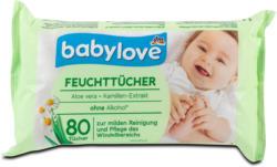 babylove Feuchttücher Aloe Vera & Kamillen-Extrakt