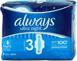 always ultra night Binden mit Flügeln