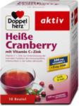 dm Doppelherz aktiv Heiße Cranberry mit Vitamin C + Zink Pulver