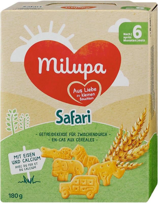 Milupa Safari Getreidekekse für zwischendurch
