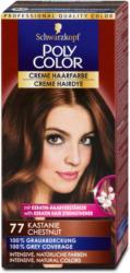 Poly Color Creme Haarfarbe - Nr. 77 Kastanie