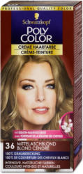 Poly Color Creme Haarfarbe - Nr. 36 Mittelaschblond