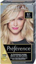 L'Oréal Préférence Permanente Haarfarbe - Nr. 9.1 Oslo Sehr Helles Aschblond
