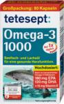 dm tetesept Omega-3 Lachsöl 1000 Kapseln