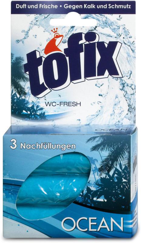 tofix WC-Fresh Nachfüller Ocean WC-Reiniger