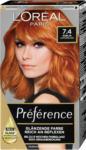 dm L'Oréal Préférence Permanente Haarfarbe - Nr. 7.4 Dublin Kupferblond