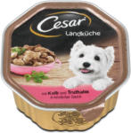 dm Cesar Landküche Hundefutter mit Kalb und Truthahn in Sauce