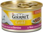 dm Gourmet Gold Katzenfutter mit Kalb in Sauce mit Gemüse