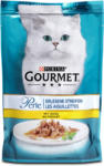 dm Gourmet Perle Erlesene Streifen Katzenfutter mit Huhn