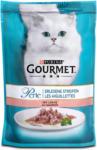 dm Gourmet Perle Erlesene Streifen Katzenfutter mit Lachs