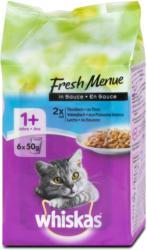 whiskas 1+ Jahre Fresh Menue Katzenfutter mit Fisch