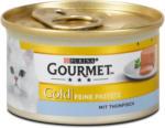 dm Gourmet Gold Feine Pastete Katzenfutter mit Thunfisch