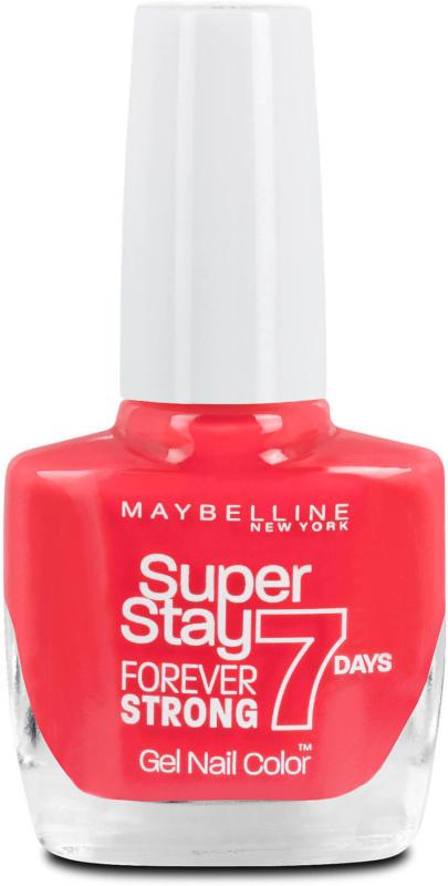 Maybelline Super Stay Forever Strong 7 Days Nagellack - Nr. 490 Rose Salsa Hot Salsa