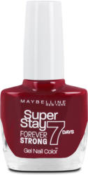 Maybelline Super Stay Forever Strong 7 Days Nagellack - Nr. 501 Rouge Laqué Cherry Sin