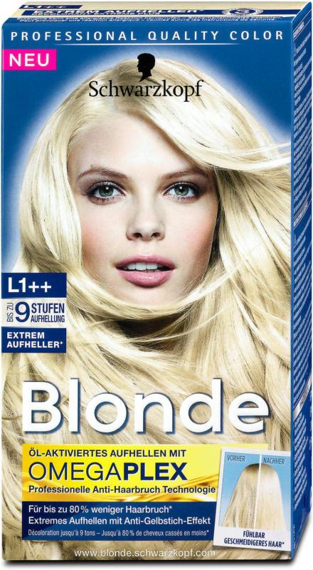 Blonde Extrem Haaraufheller - Nr. L1++