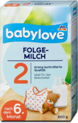 babylove Folgemilch 2