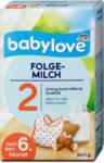 dm babylove Folgemilch 2