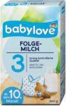 dm babylove Folgemilch 3