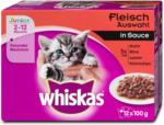 dm whiskas Junior Katzenfutter Fleisch Auswahl in Sauce