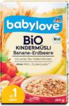 dm babylove Bio-Kindermüsli Banane-Erdbeere