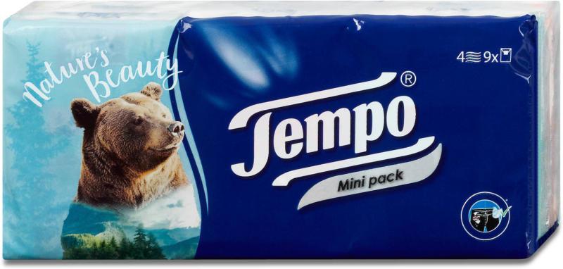 Tempo Taschentücher Mini Pack