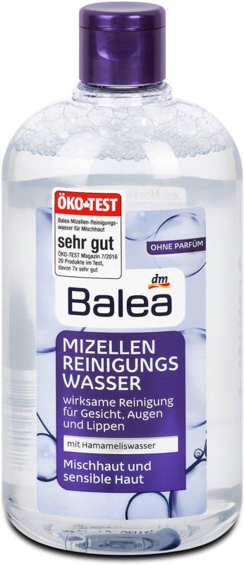 Balea Mizellen Reinigungswasser Mischhaut und sensible Haut