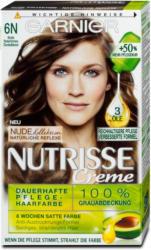 Garnier Nutrisse Creme dauerhafte Pflege-Haarfarbe - Nr. 6N Natürliches Dunkelblond