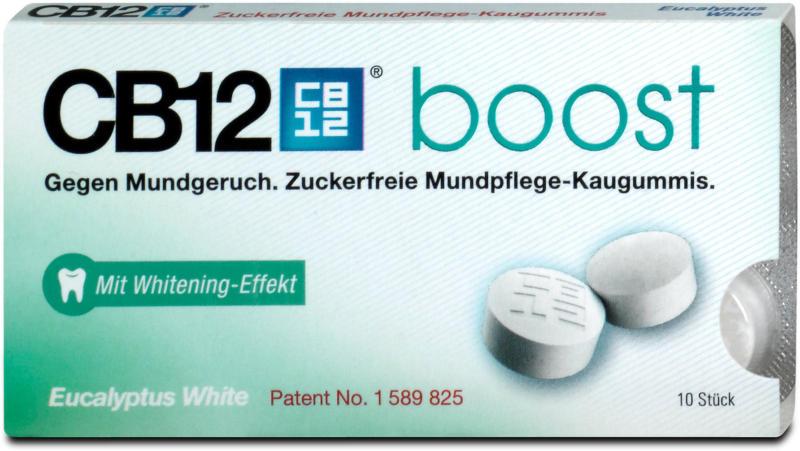 CB12 boost Eucalyptus White Mundpflege-Kaugummis