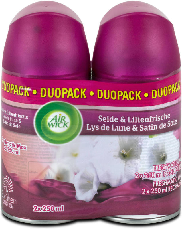 Air Wick Freshmatic Duopack Nachfüller Seide & Lilie Duopack