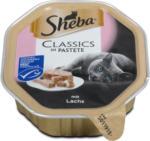 dm Sheba Classics Katzenfutter Pastete mit Lachs