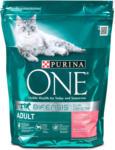 dm One Adult Katzenfutter mit Lachs und Vollkorn-Getreide