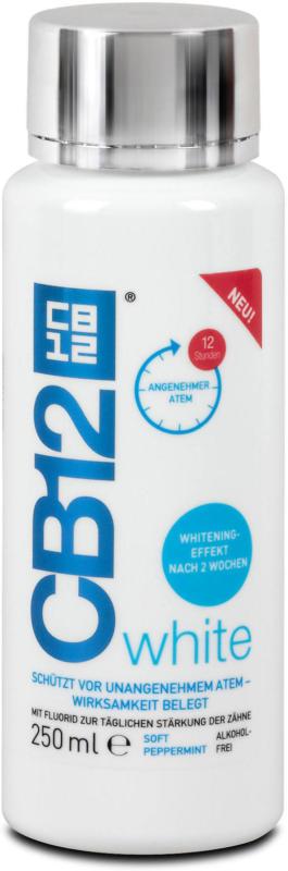 CB12 Mundspülung white