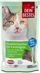 Dein Bestes Katzensnack Knabbertaschen mit Katzengras