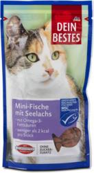 Dein Bestes Katzensnack Mini-Fische mit Seelachs