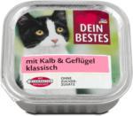 dm Dein Bestes Katzenfutter klassisch mit Kalb & Geflügel