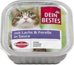 dm Dein Bestes Katzenfutter mit Lachs & Forelle in Sauce