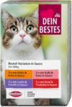 dm Dein Bestes Katzenfutter Beutel-Variation in Sauce