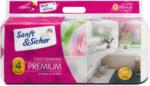 dm Sanft&Sicher Toilettenpapier Premium 4-lagig