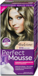 Perfect Mousse Permanente Schaumcoloration - Nr. 816 Nude Blond