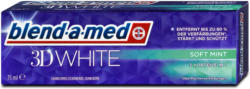 blend-a-med 3D White Zahncreme Soft Mint
