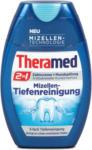 dm Theramed 2in1 Zahncreme + Mundspülung Mizellen-Tiefenreinigung