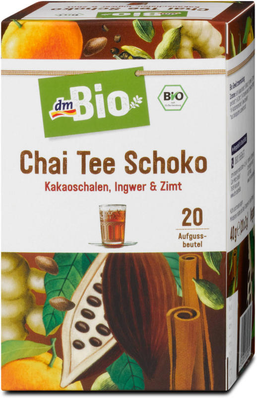 dmBio Chai Tee Schoko