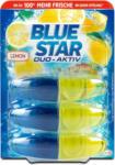 dm Blue Star Duo-Aktiv WC-Reiniger Nachfüllungen Zitrone
