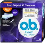 dm o.b. Flexia Tag + Nacht Tampons Super